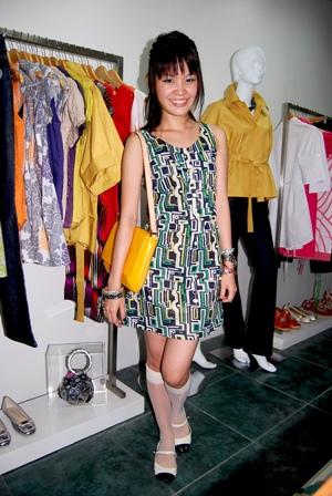 dress: freeway, sling bag: louis vuitton, socks: from my nursing uniform, chanel-ish flats: topshop