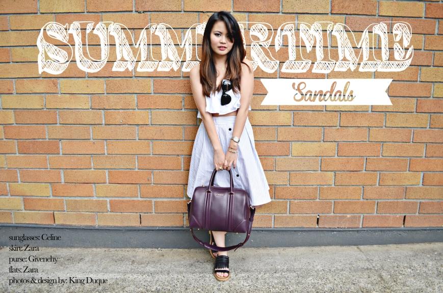 summertime sandals